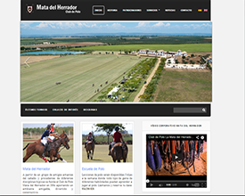 Sitio web de Mata del Herrador Club de Polo