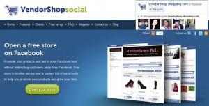 Aplicaciones facebook-Vendorshop