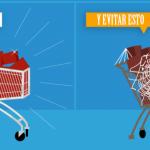 Reducir el abandono de carritos en tiendas online. Infografía.