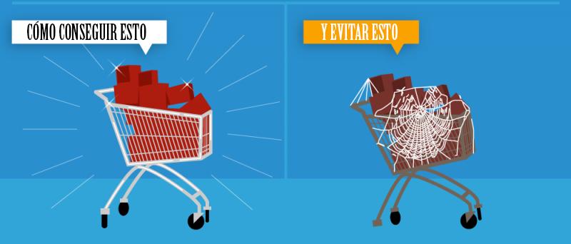 Reducir el abandono de los carritos en las tiendas online