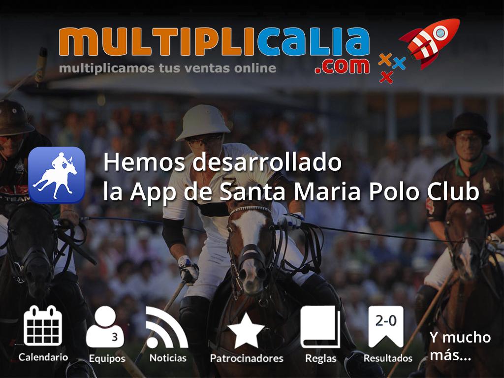 Desarrollo de la APP de Santa María Polo Club