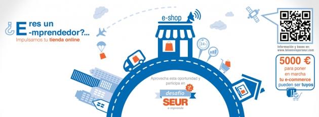 Concurso SEUR e-mprende: 5000€ para ideas o nuevas tiendas online