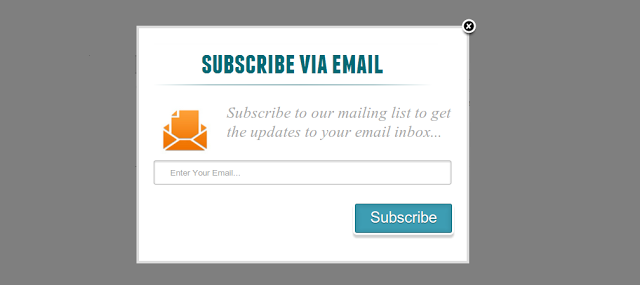 popups suscripciones email
