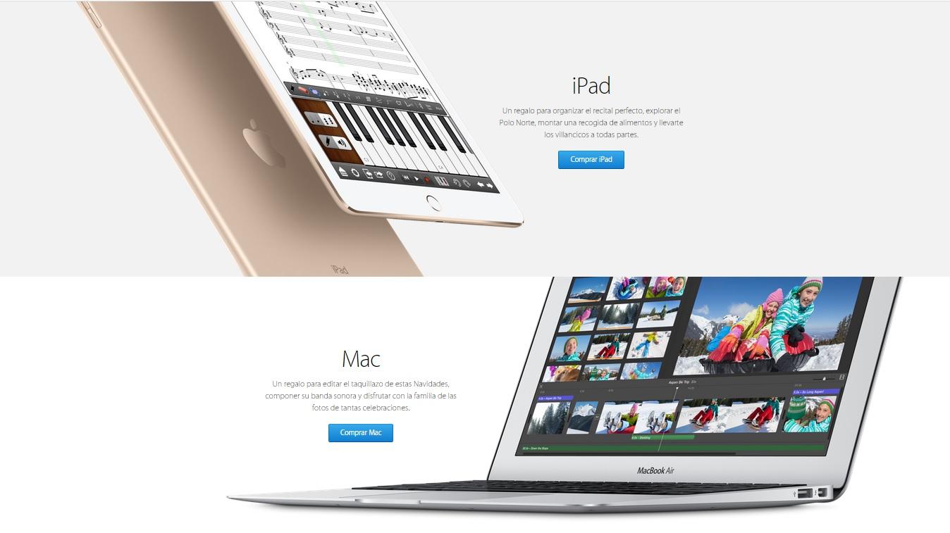 Apple optimiza las tasas de conversión gracias al uso de imágenes.