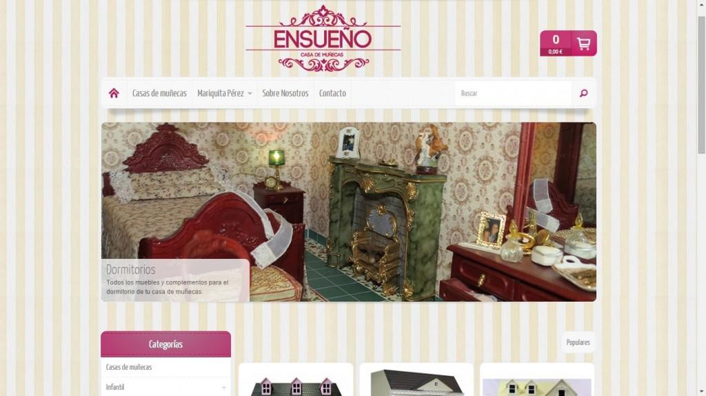 Nueva tienda online hecha por Multiplicalia para Casadelasmuñecas