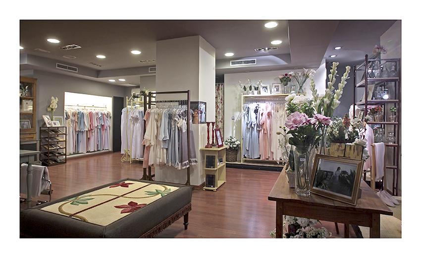 Nueva tienda online para la tienda física de camisones Icha