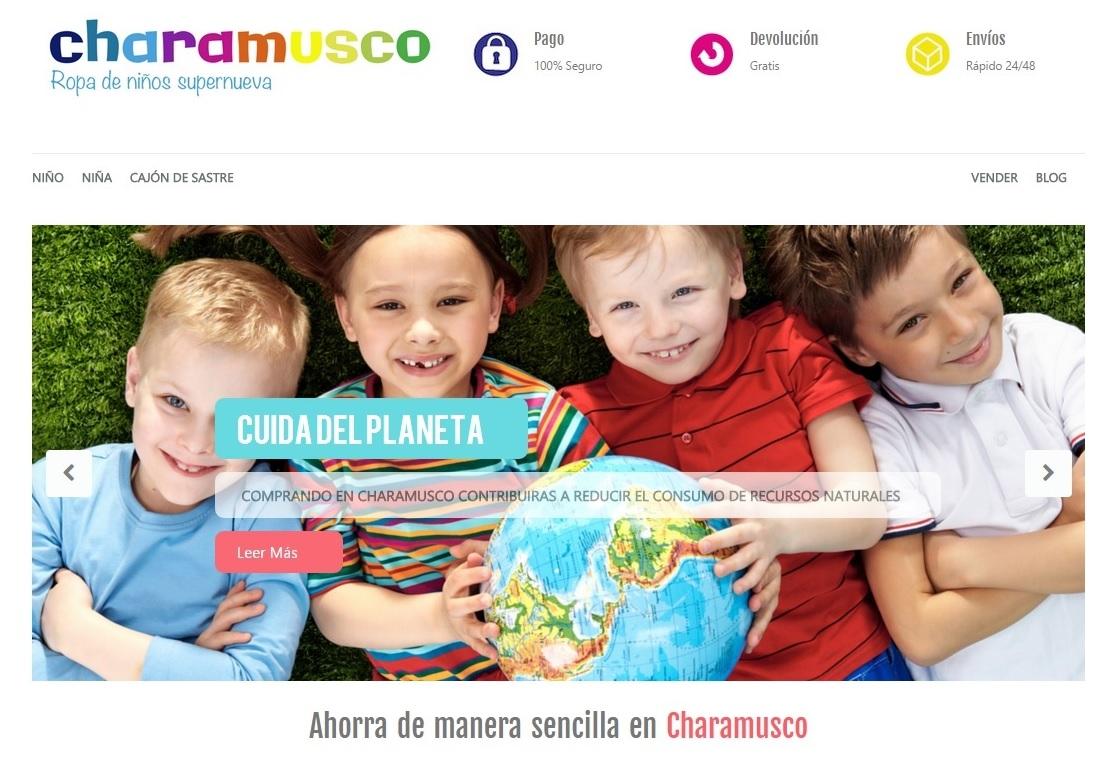 Catálogo de niña de la tienda online diseñada de por Multiplicalia