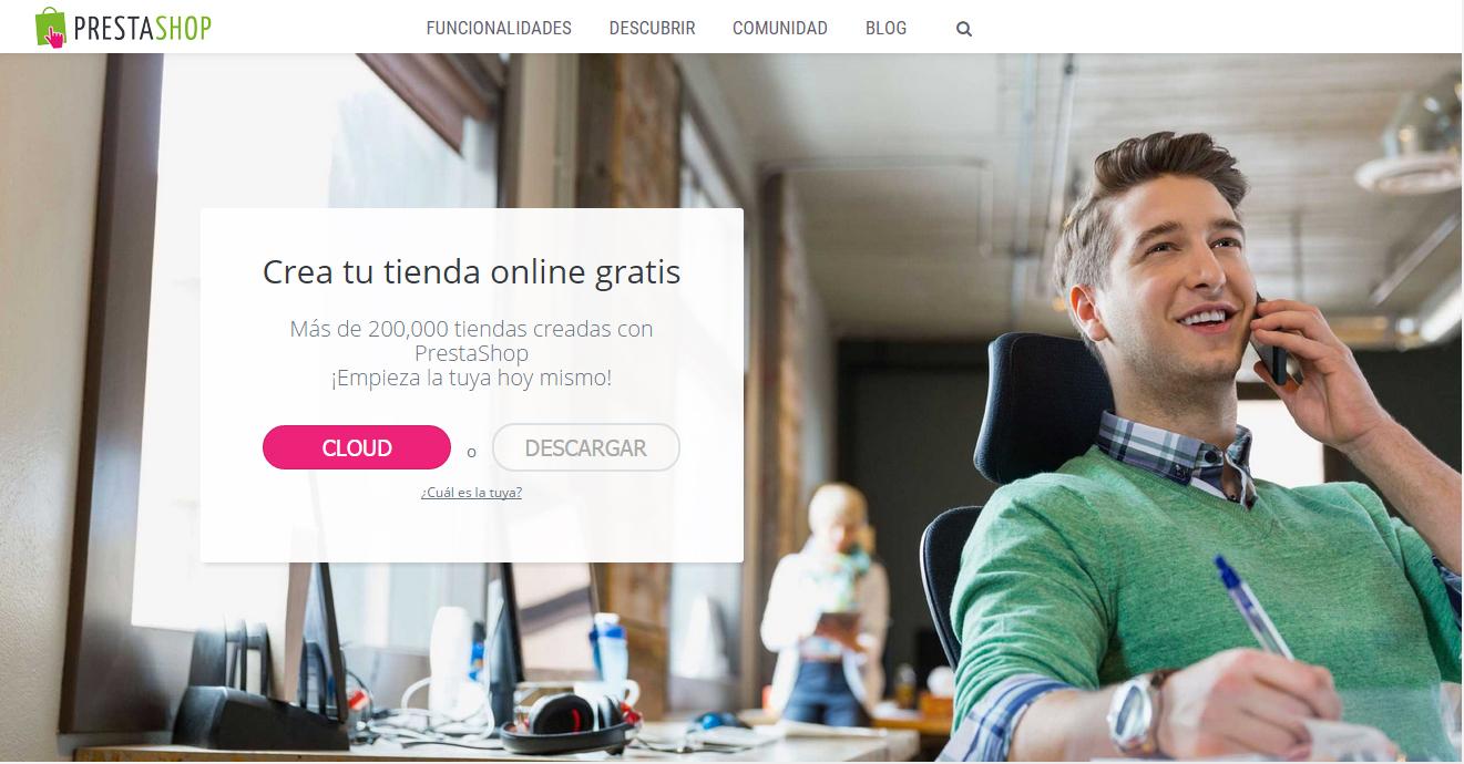 Otra posibilidad es montar tu tienda online con Prestashop, líder en Europa.