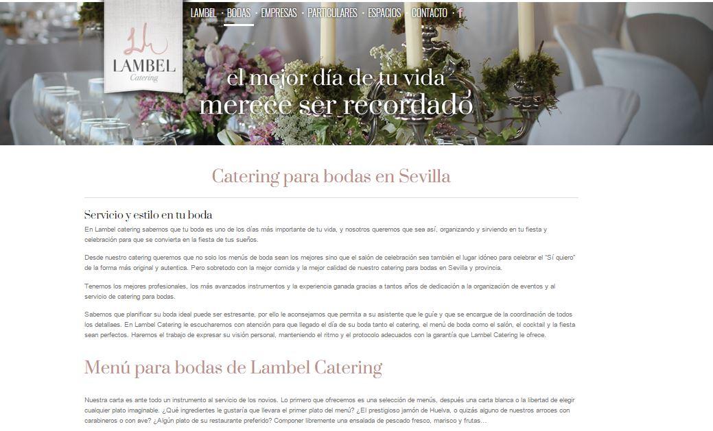 Diseño tienda online lambel