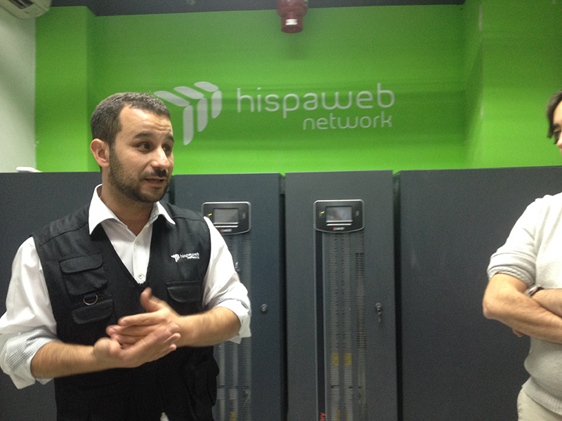 Multiplicalia visita las oficinas de Hispaweb