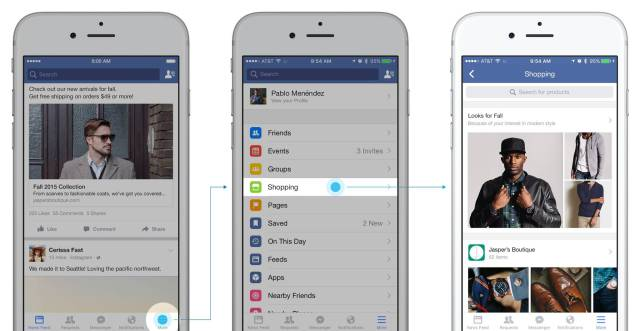 funcionalidades de facebook