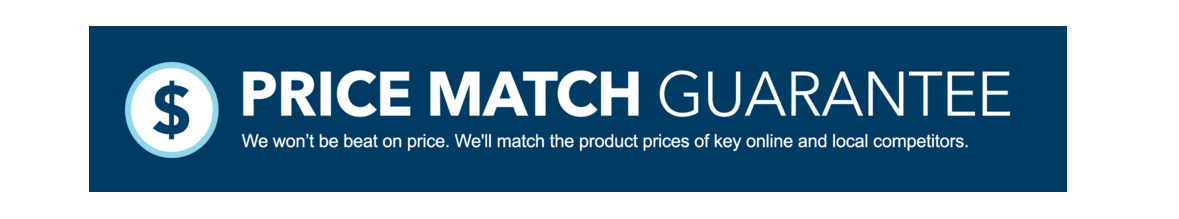 Price Match Guaranteed personalizado