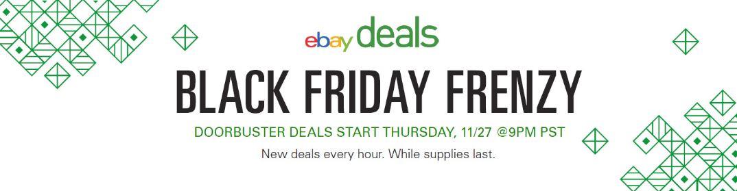 Estrategias de Ebay durante el Black Friday