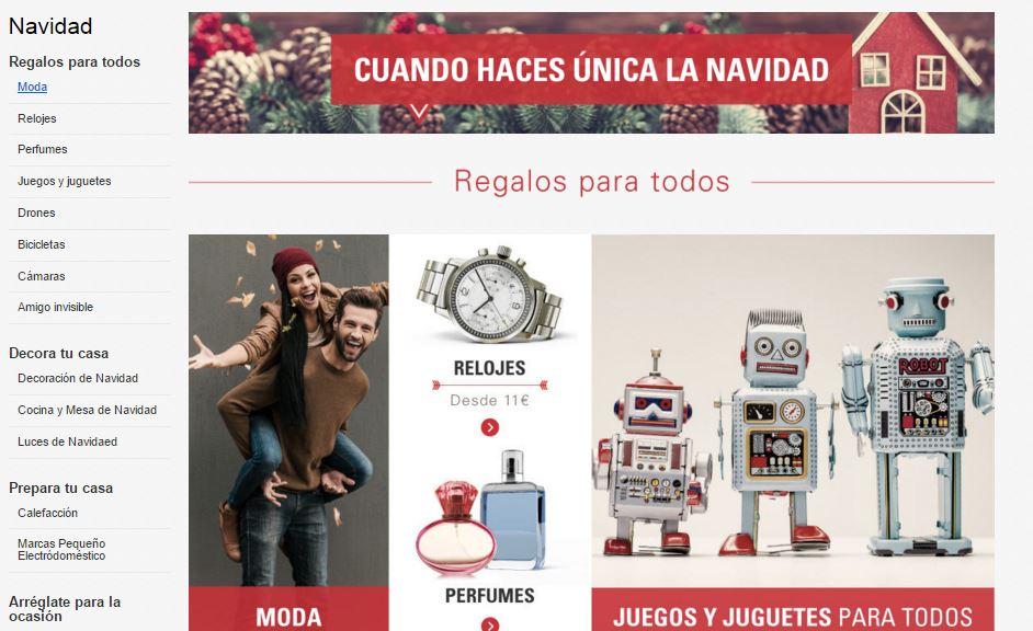 promociones de navidad en ebay