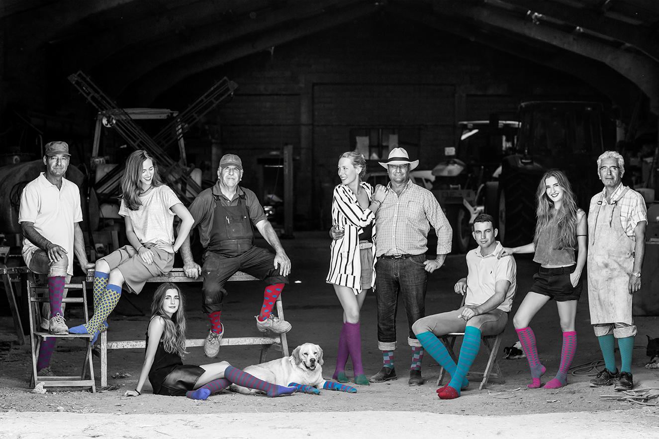 Diseño tienda online para Monky Socks ¡Calcetines originales!