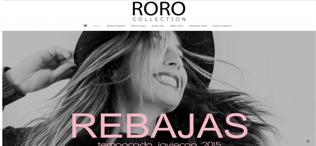 tienda online roro