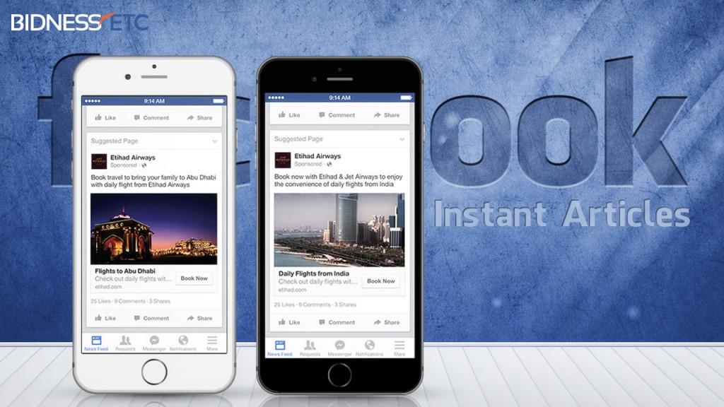 Nuevo Instant Articles de Facebook