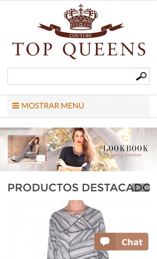 tienda online topqueens