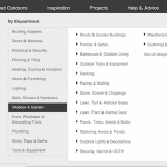 Tendencias en diseño web y de tiendas online: Mega menú