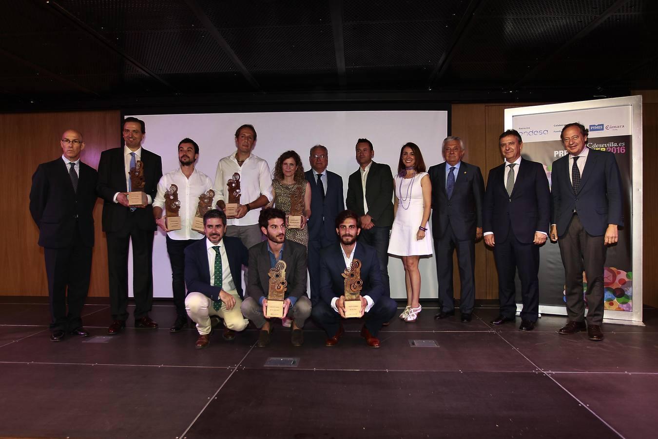 Multiplicalia galardonada en los Premios Web ABC de Sevilla 2016