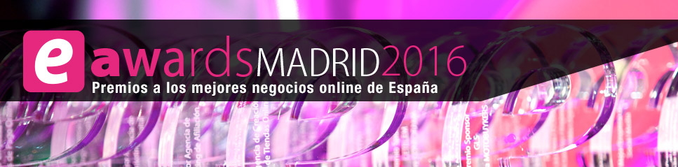 Premios eAwards Madrid 2016