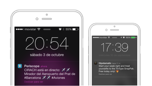 aplicación móvil para tienda online