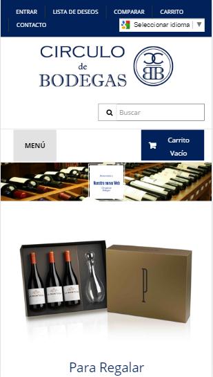 tienda online para Círculo de Bodegas