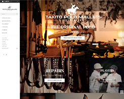 Sitio web de Takito Polo Mallets
