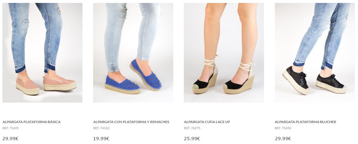 alpargatas de mujer tienda online marypaz