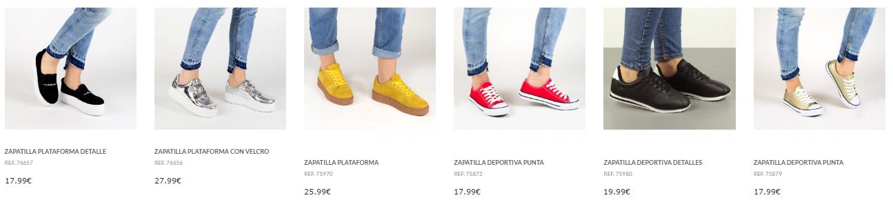 zapatillas de mujer tienda online Marypaz