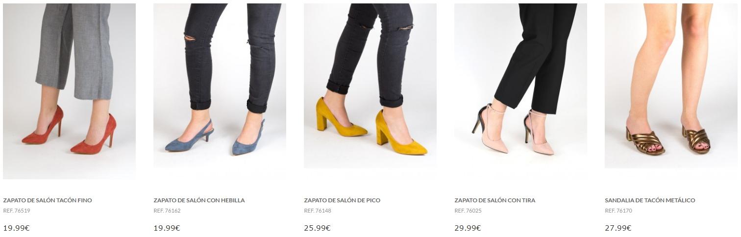 zapatos de tacon tienda online marypaz