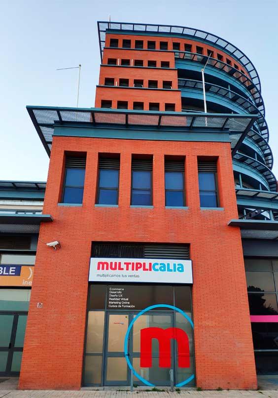 multiplicalia diseño tienda online oficina