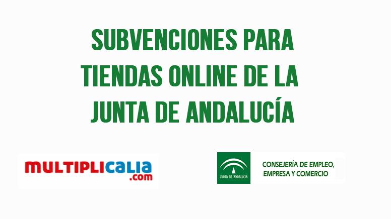 subvenciones para tiendas online de la junta de andalucia
