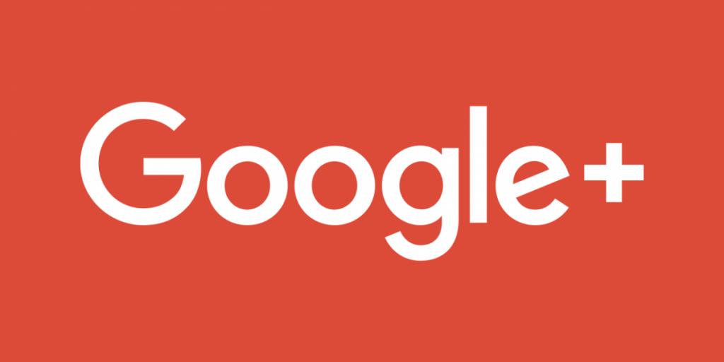 logo de google plus, una de las redes sociales más usadas en 2018