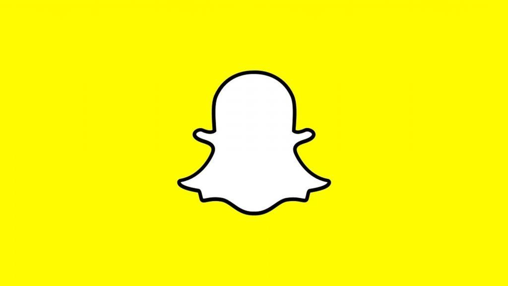 logo de snapchat, una de las redes sociales más usadas en 2018