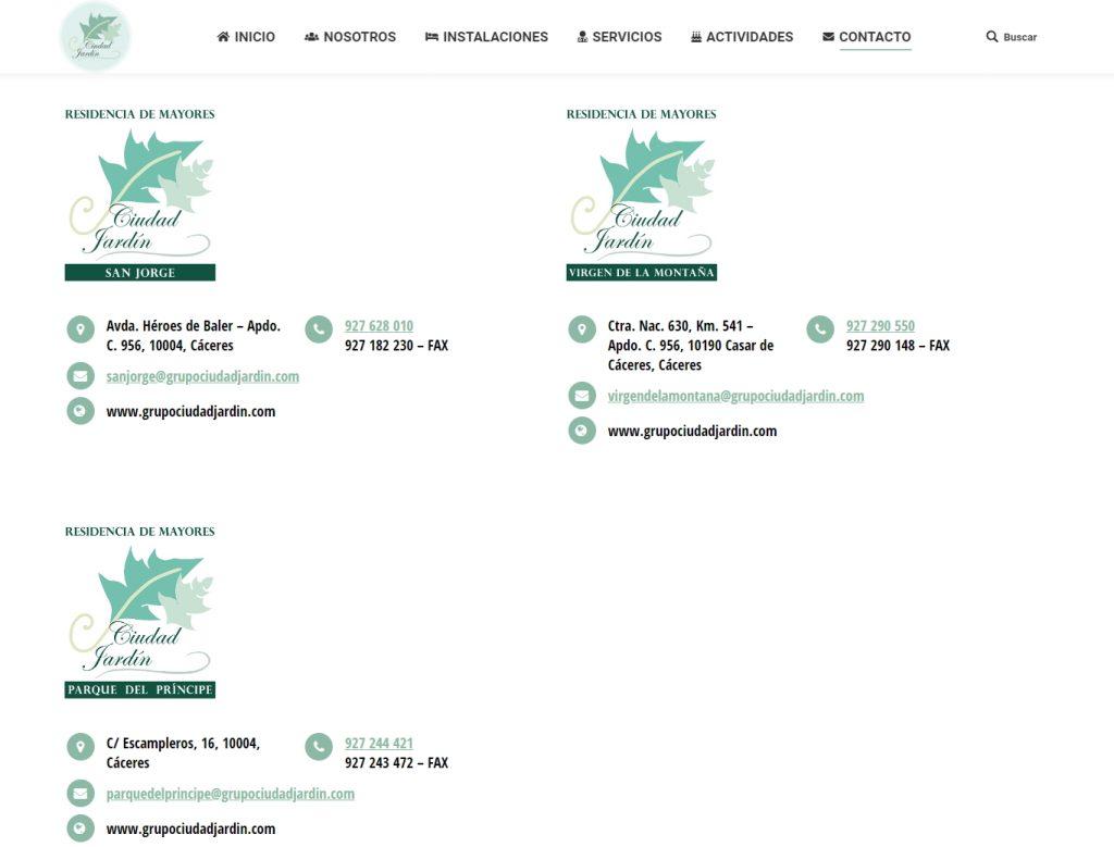 diseño de página web diseño web