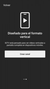 instagram tv crear canal