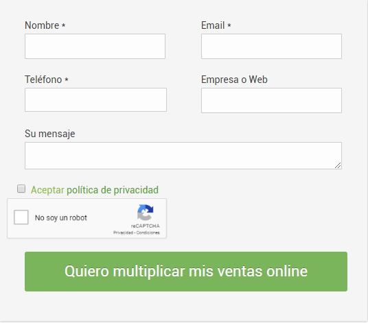 formulario web multiplicalia