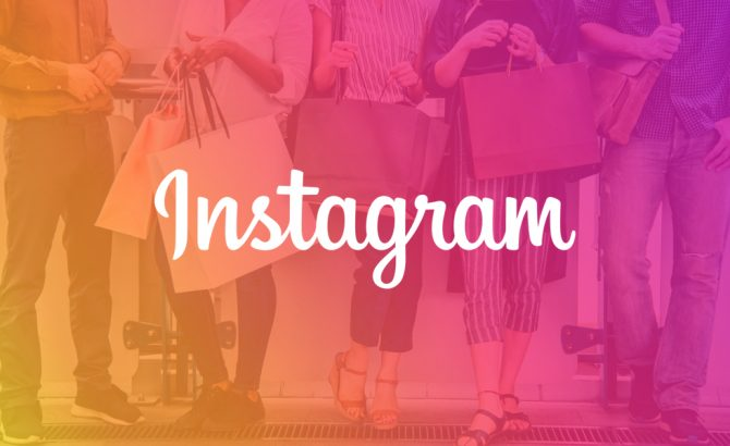 app de shopping de instagram