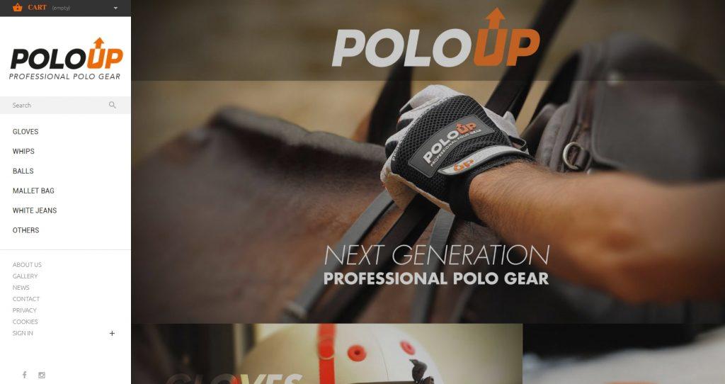 diseño de tienda online para poloup