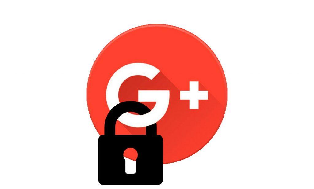 cierre de google plus
