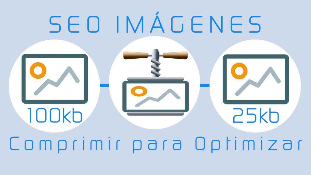 comprimir las imagenes para conseguir una optimizacion de imagenes apropiada