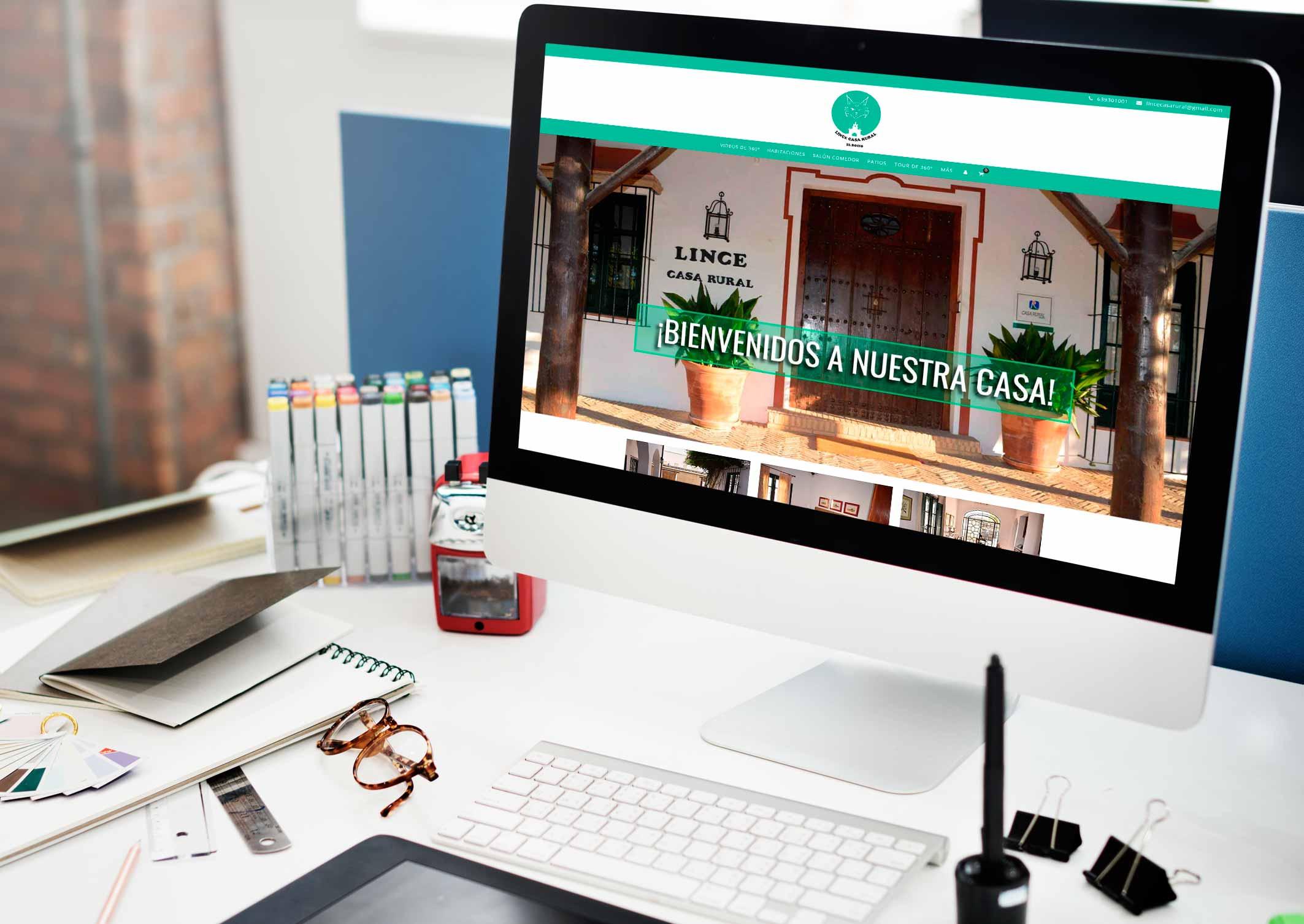 Diseño web para Lince Casa Rural