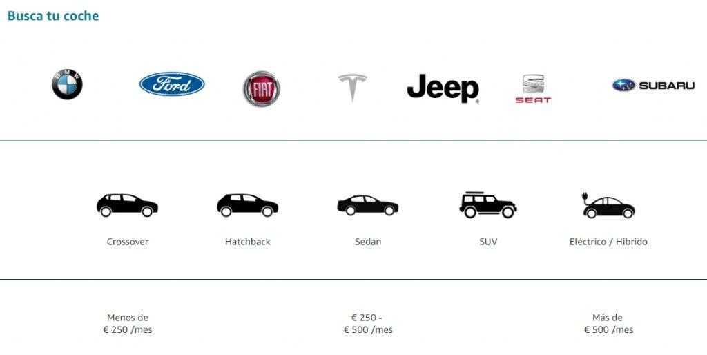 compra tu coche en amazon