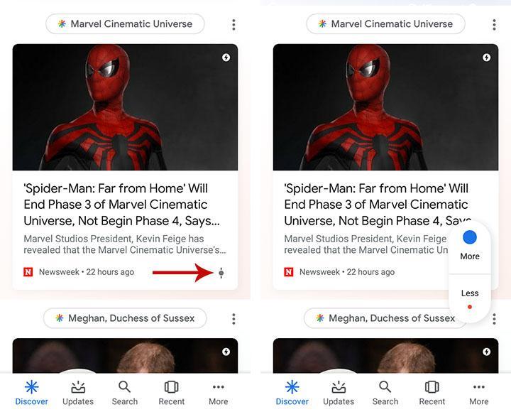 cómo personalizar google discover