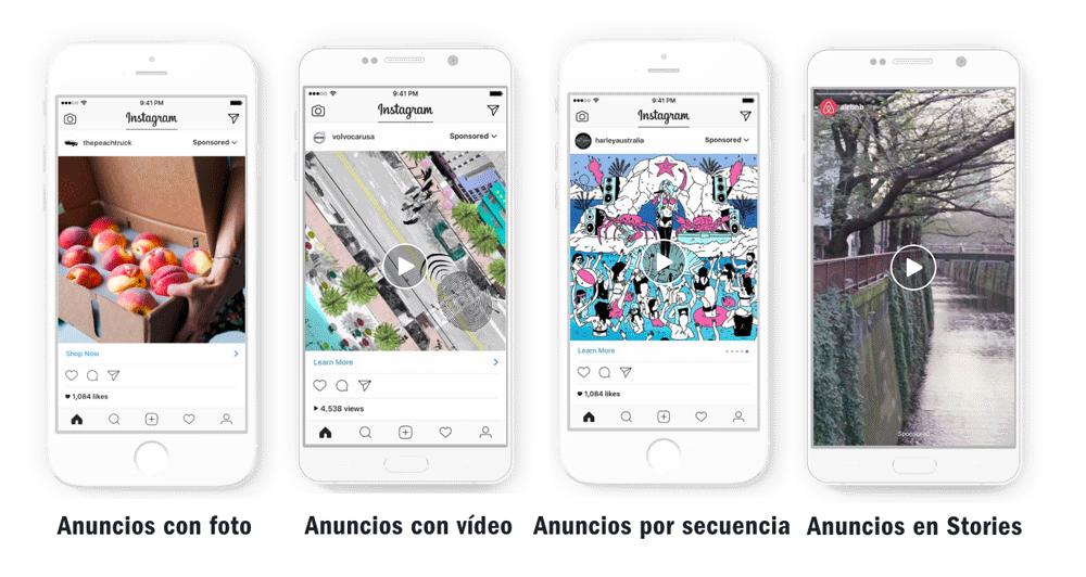 novedades de instagram relacionadas con anuncios