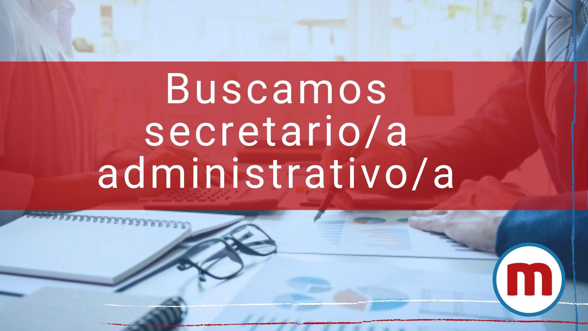 secretario administrativo para media jornada