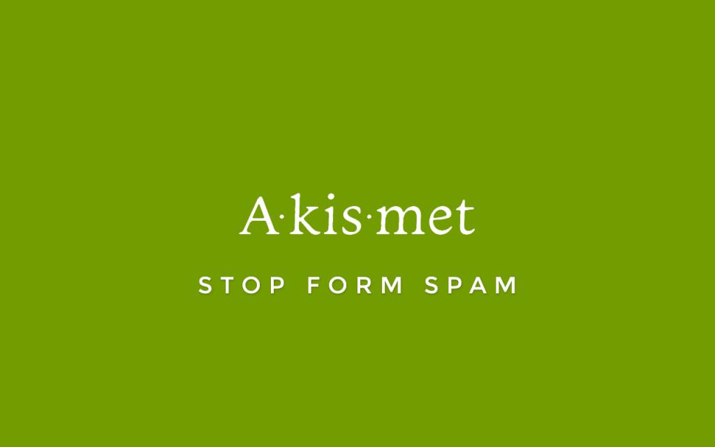 Akismet es de los mejores plugins para wordpress