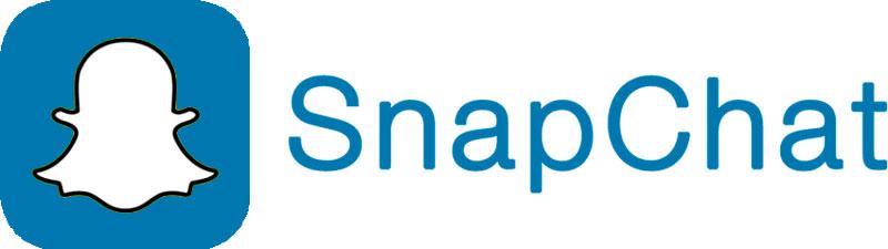 logo snapchat redes sociales más usadas