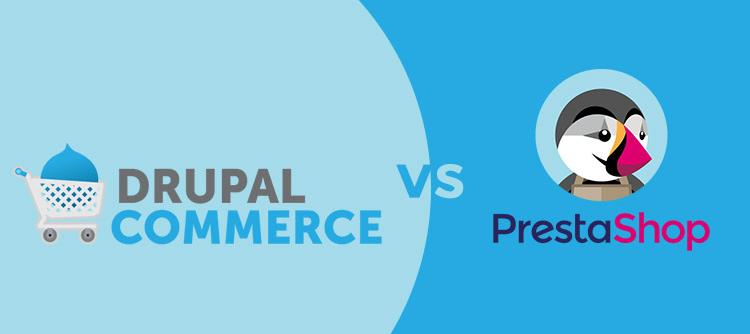 drupal commerce vs prestashop tiendas online